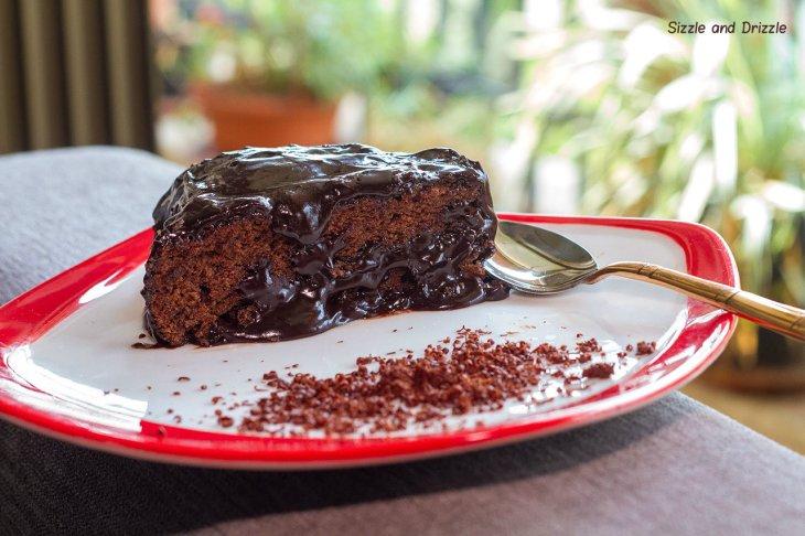 chcolate cake piece