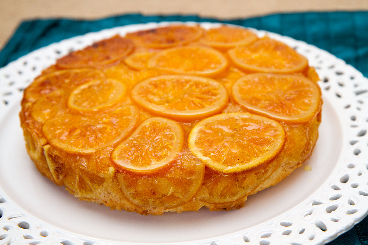 Almond Cake With Orange Syrup