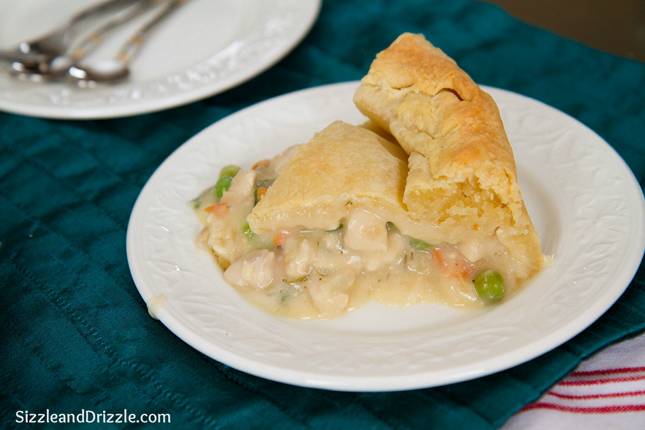 Creamy Luscious Chicken Pot Pie ! | Sizzle and Drizzle