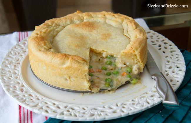 Chicken whole pie