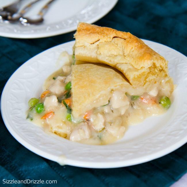 Pot pie piece