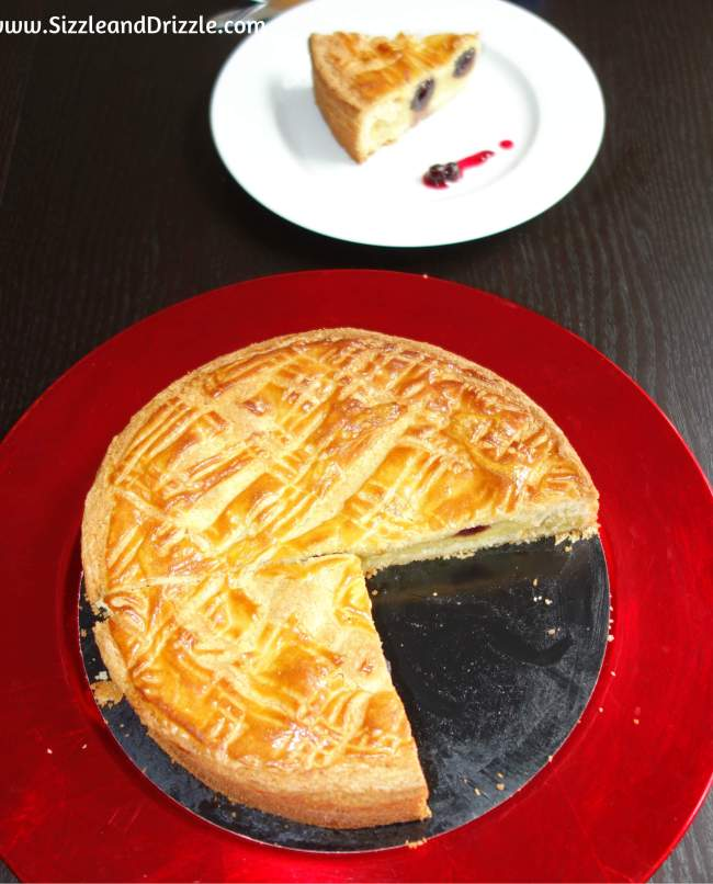Gateau basque whole