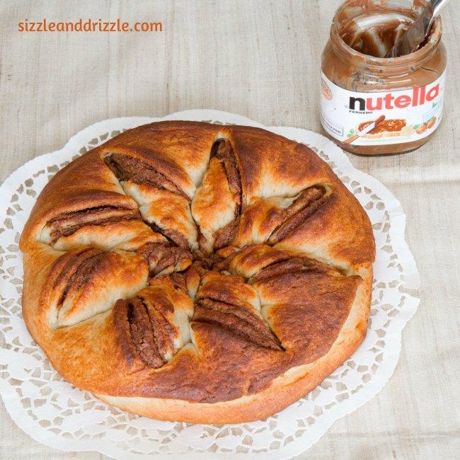 Nutella whole bread