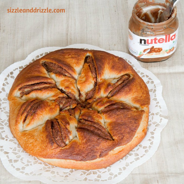 Nutella whole bread