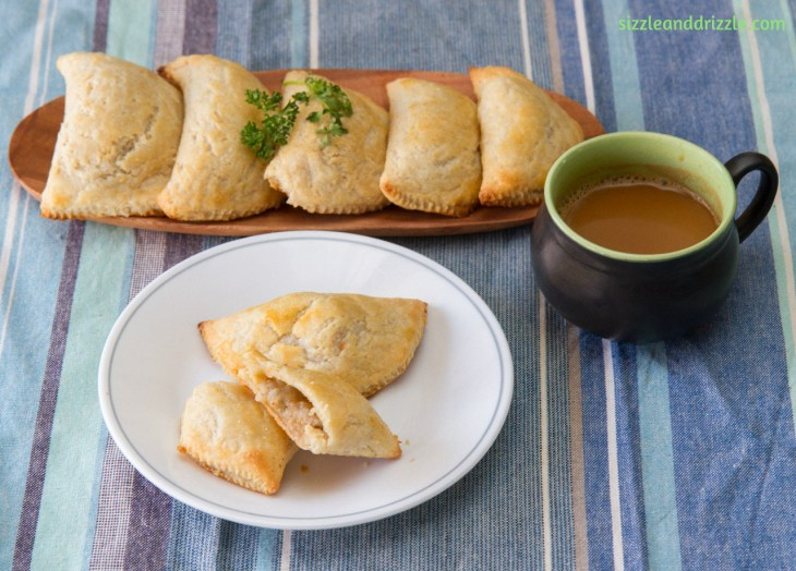 Turnovers with coffee