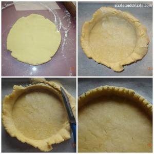 Making the tart dough