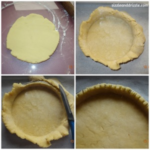 Making the tart dough
