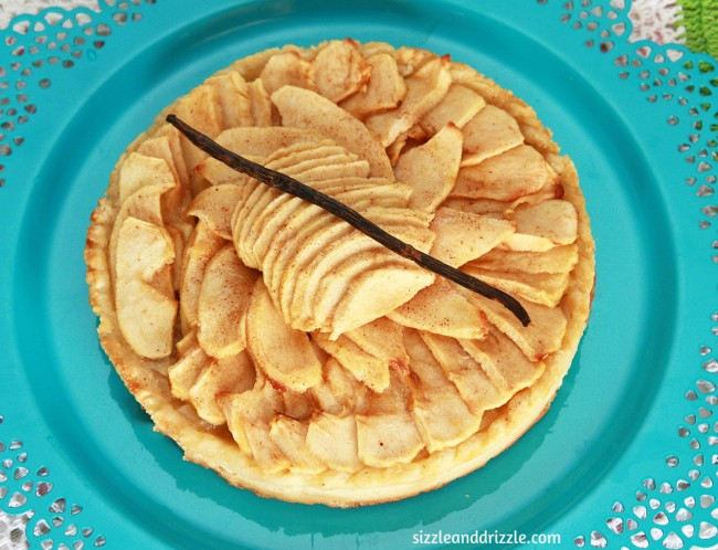 Pear and Apple tart