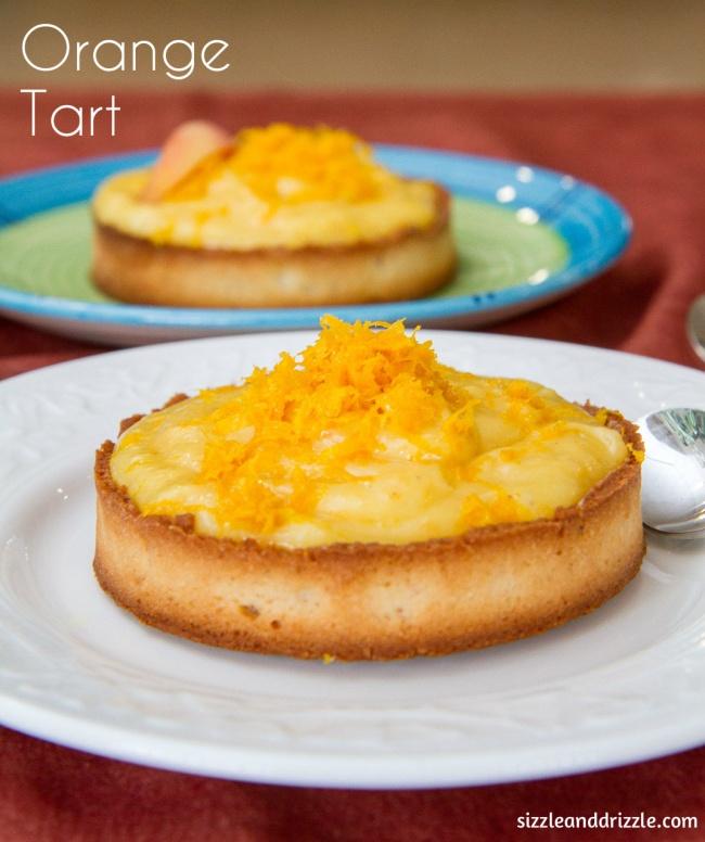 Orange tartlette