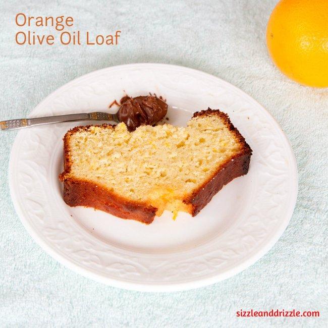 Orange Olive oil loaf