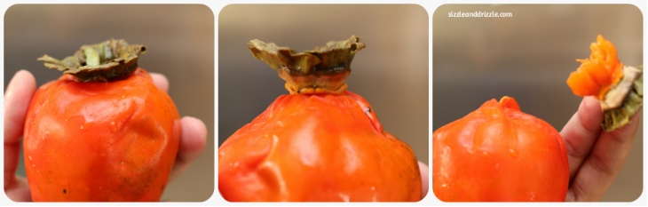 Opening a persimmon