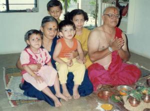 Ajji Ajoba and kids