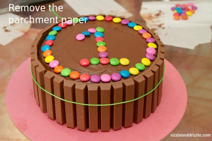 Remove parchment