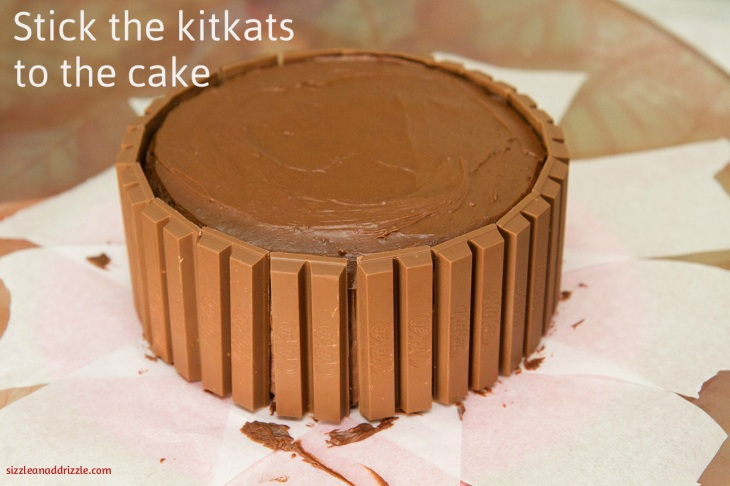 Sticking kitkats