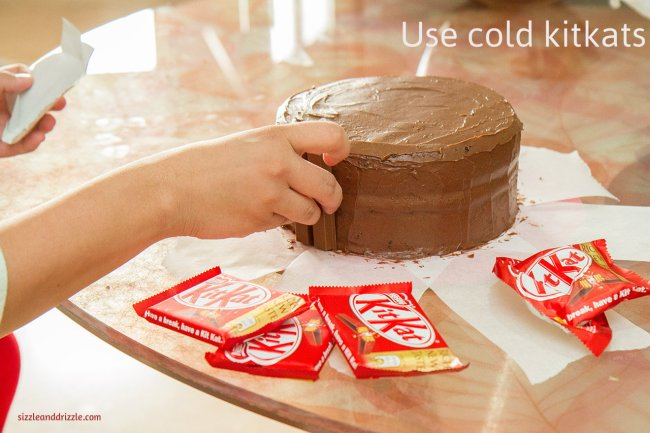Use cold kitkats