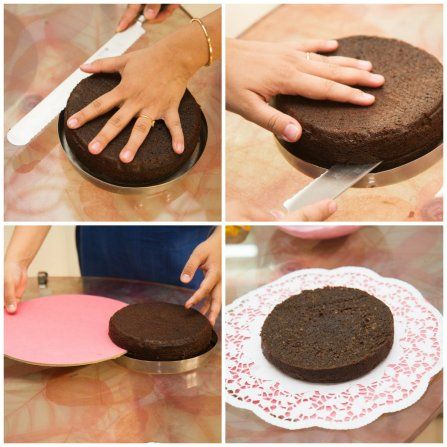 Layering a cake 2