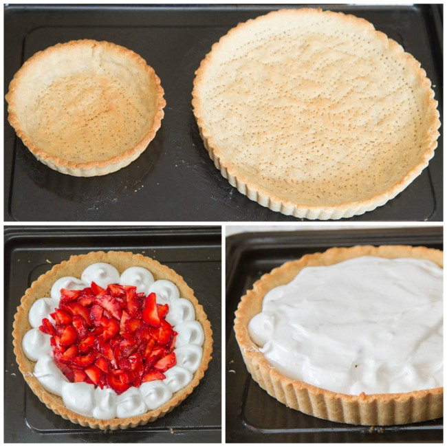 Process of meringue