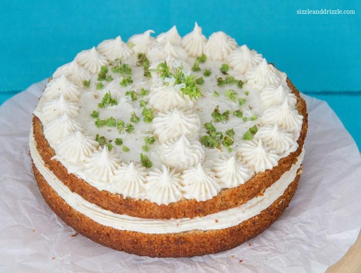 Basil Chai cake