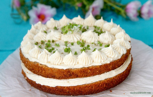 Chai cake