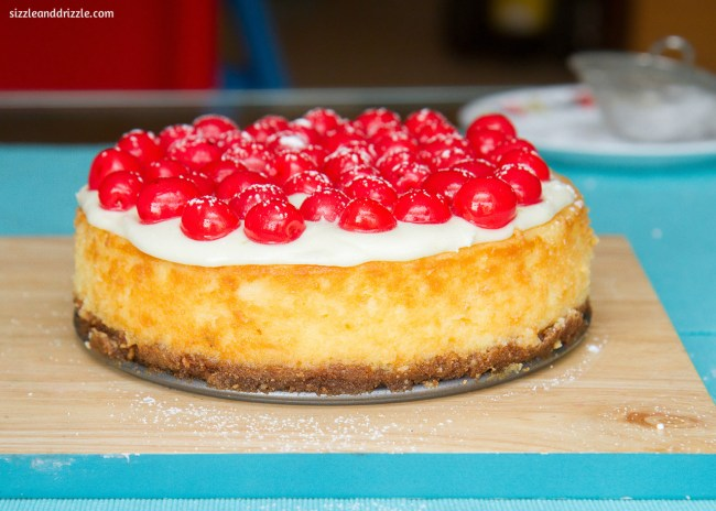 baked-cherry-cheesecake