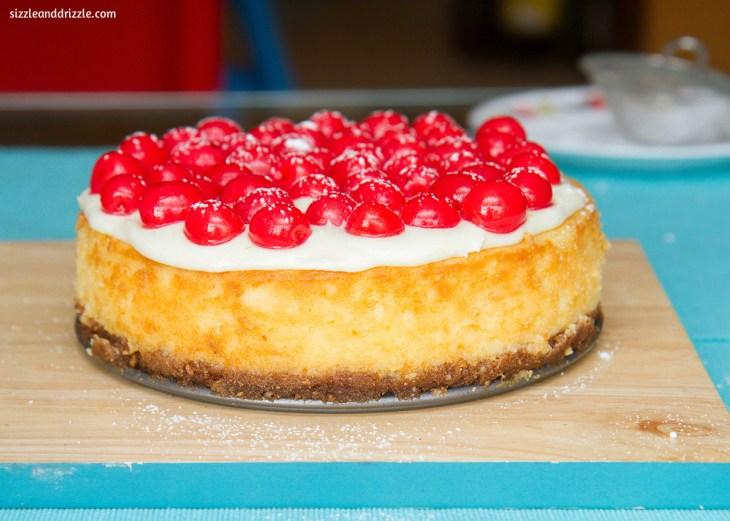 baked-cherry-cheesecake