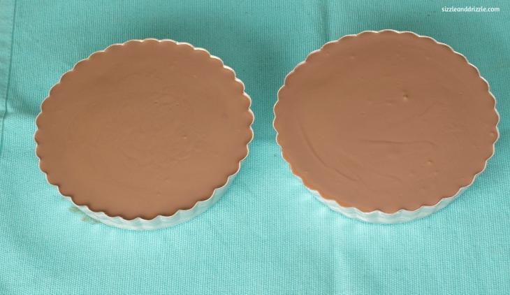 Chocolate top of tart