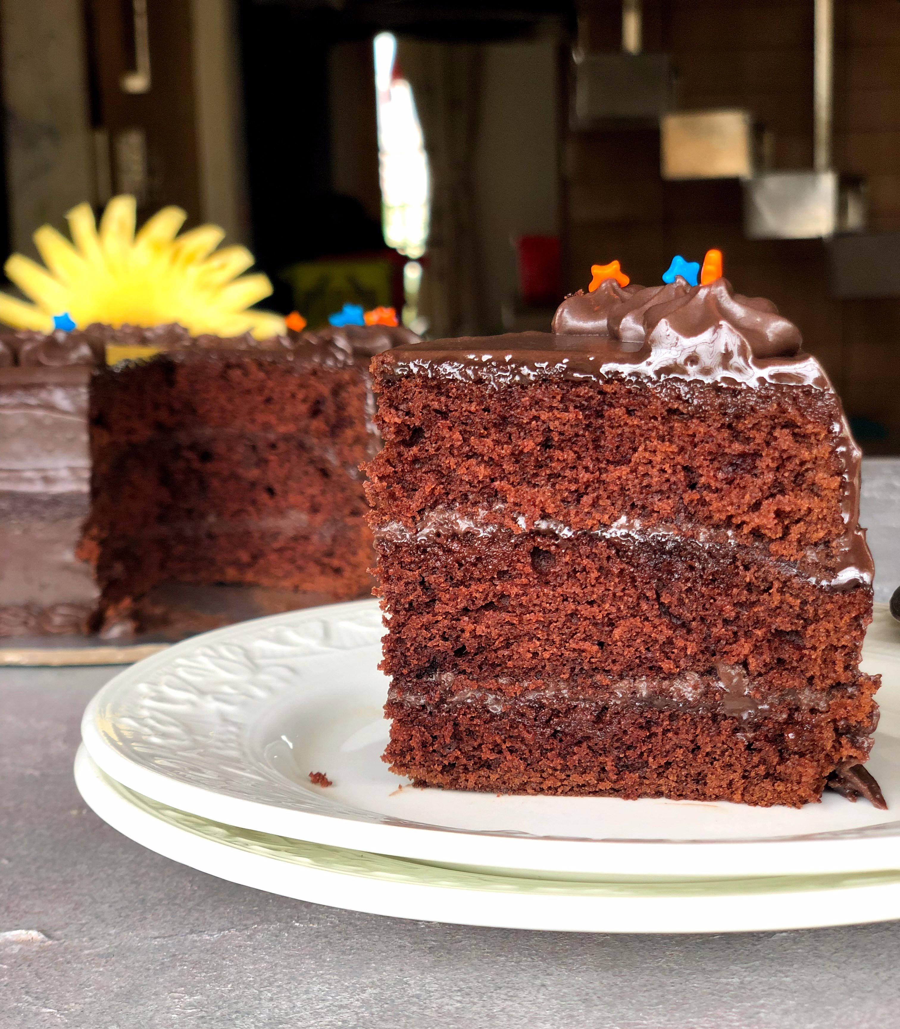 Velvety cocoa cake